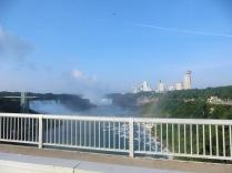 Op de Rainbow Bridge naar VS