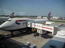 LHR - MIA Boeing 747-400