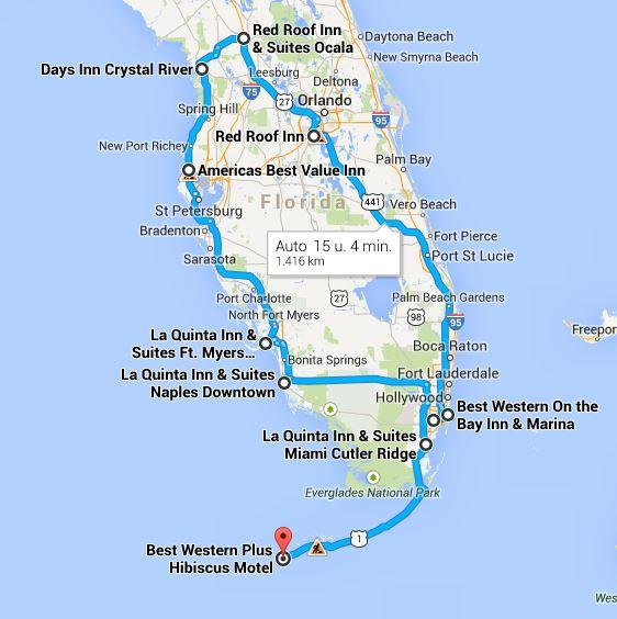 Route Florida 2011