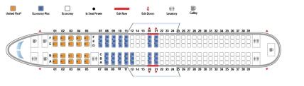 Seating B737-900