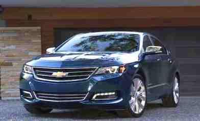 Chevrolet Impala (or simular)